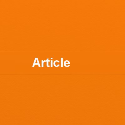 Did you know that Orange article