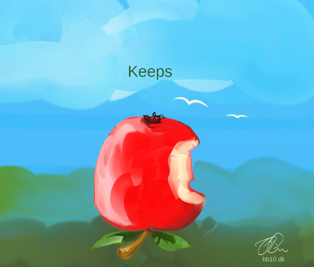 an apple a day keeps the doctor away bite