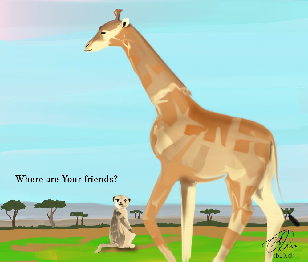 Giraffes The Jacarta Post