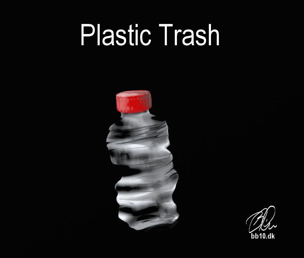 Plastic trash Eco Ark