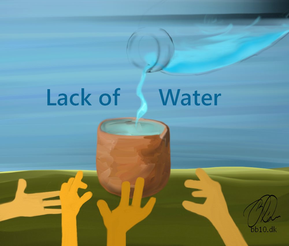 lack of water World Wild Life