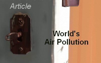 Behind the Door World's Air Pollution