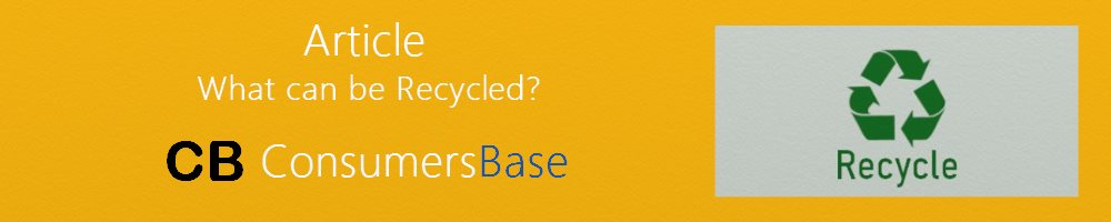 Article Recycle from CB Consumers Base
