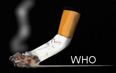 WHO health topics Tobacco