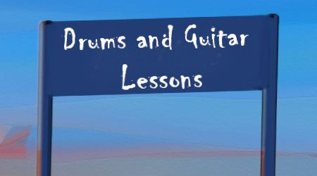Article Drums and Guitar Lessons