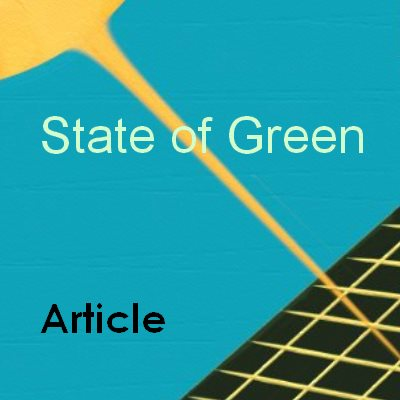 Solar Power State of Green