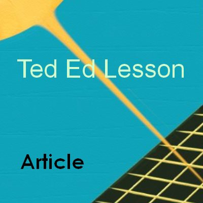 Ted Ed Lesson YouTube
