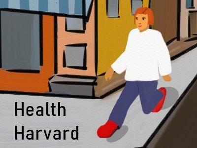 Health Harvard Walking your steps to Health
