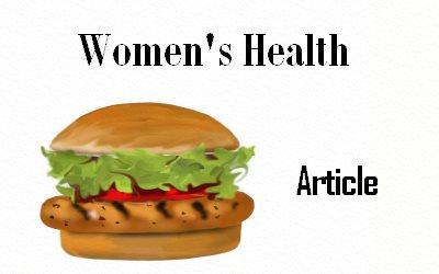Junk Food Women's Health