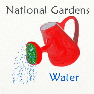 Watering National Gardens