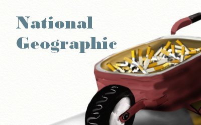 National Geographic cigarettes story of plastic