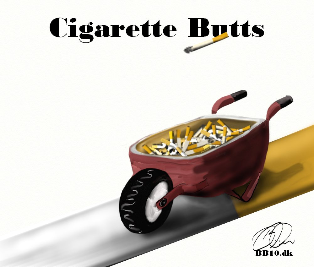 Cigarette Butts Cigarette Butt Pollution Project