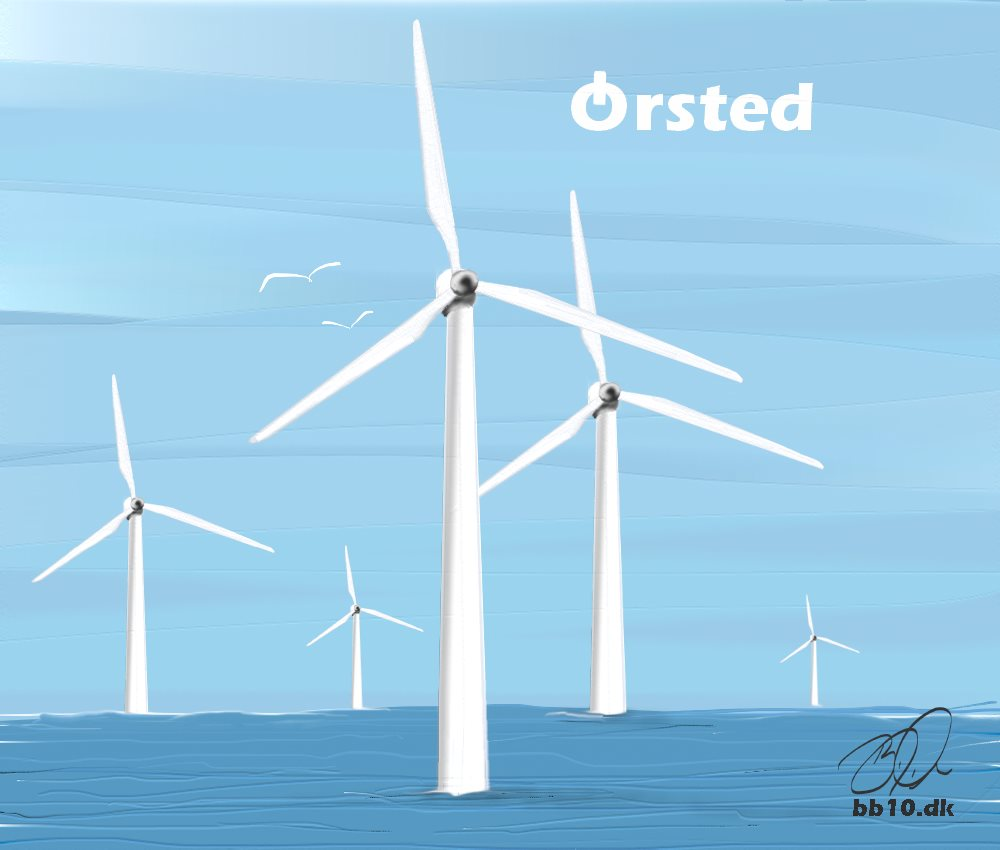 The world's largest Windfarm Ørsted