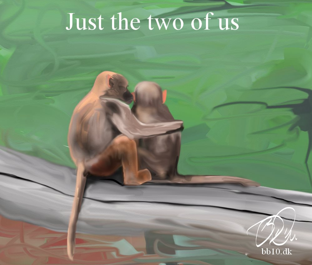 Monkey Just the two of us MNN