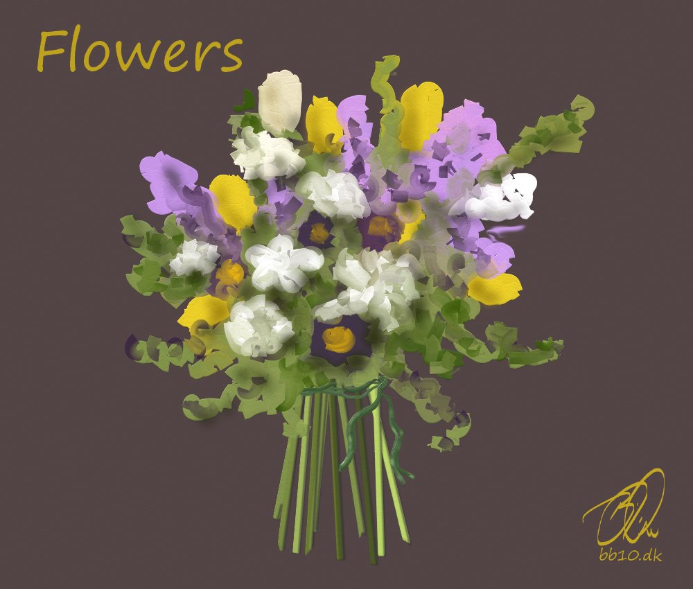 Flower bouquet Clever