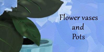 Flowers Bobedre flower vases pots