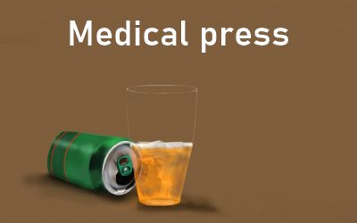 Only one Glass Medical press