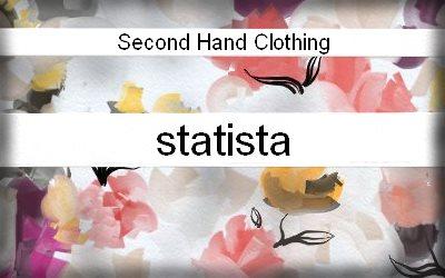 Statista Secondhand apparel market value worldwide