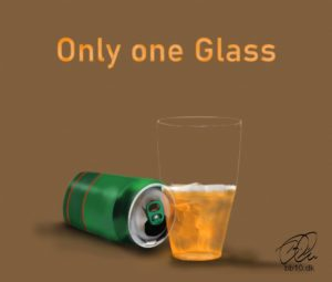 Only one Glass