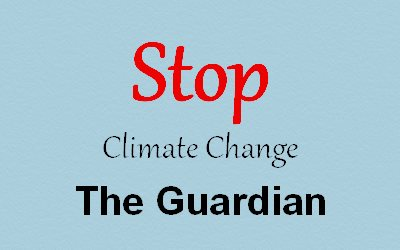 Climate Change the Guardian