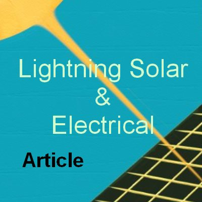 Lightning Solar & Electrical Guide