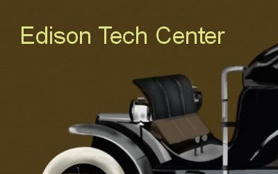 Edison Tech Center Electric Car