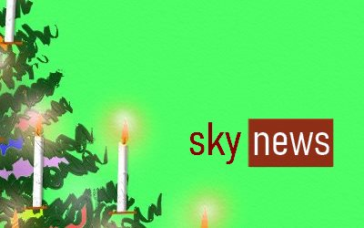 sky news covid 19 Christmas