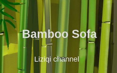 Liziqi Channel Bamboo Sofa