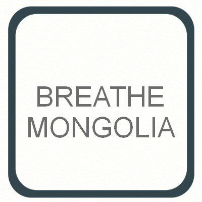 Air pollution Breathe Mongolia