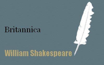 Britannica Biography Shakespeare