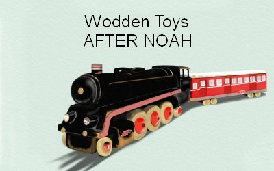 After Noah wooden toys
